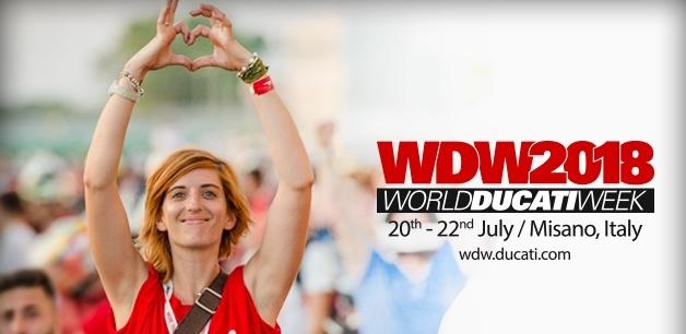 World Ducati Week is Back for 2018
