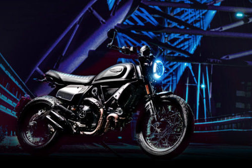 2021 Scrambler Signs Up to Work the Night Shift